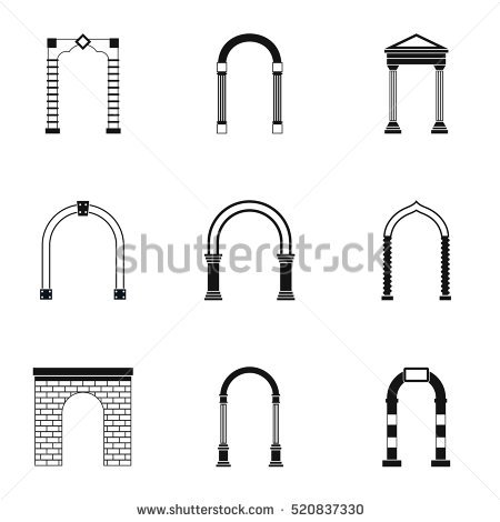 Arch Stock Photos, Royalty.