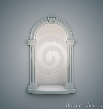 Empty Wall Antique Niche Stock Photos, Images, & Pictures.
