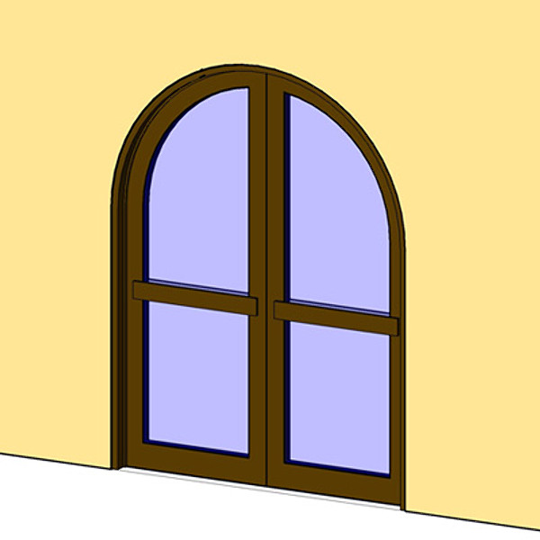 Building rfa Door Arch Opening.