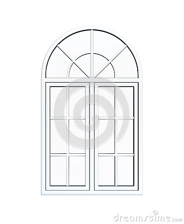 Round Arch Window Stock Illustrations.