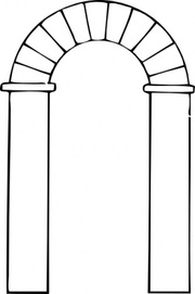 Arch Clip Art, Vector Arch.