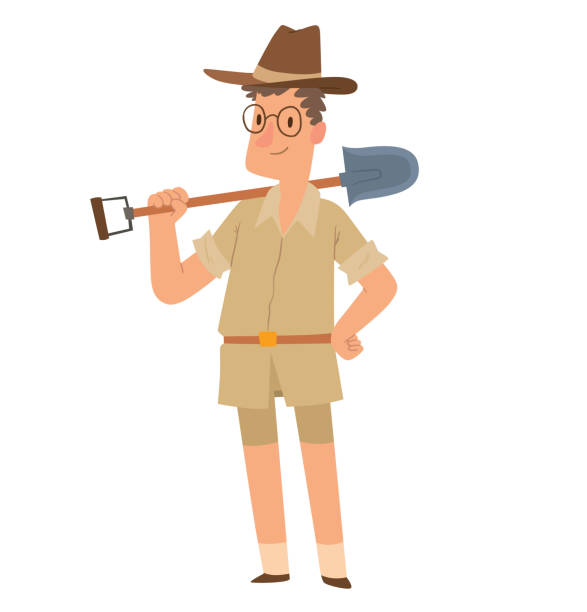 Best Archeologist Illustrations, Royalty.