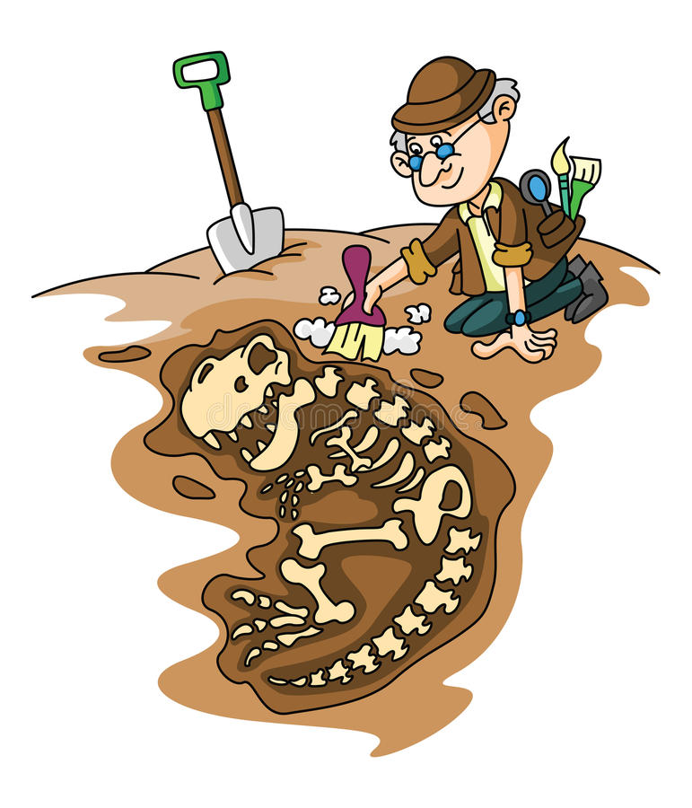 Archeology Stock Illustrations.