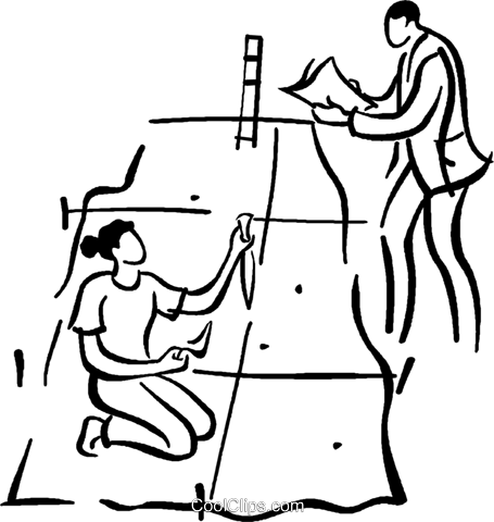 archeology Royalty Free Vector Clip Art illustration.