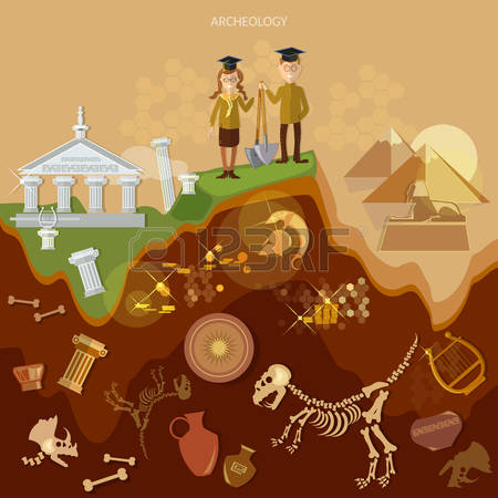 8,761 Archeology Stock Vector Illustration And Royalty Free.
