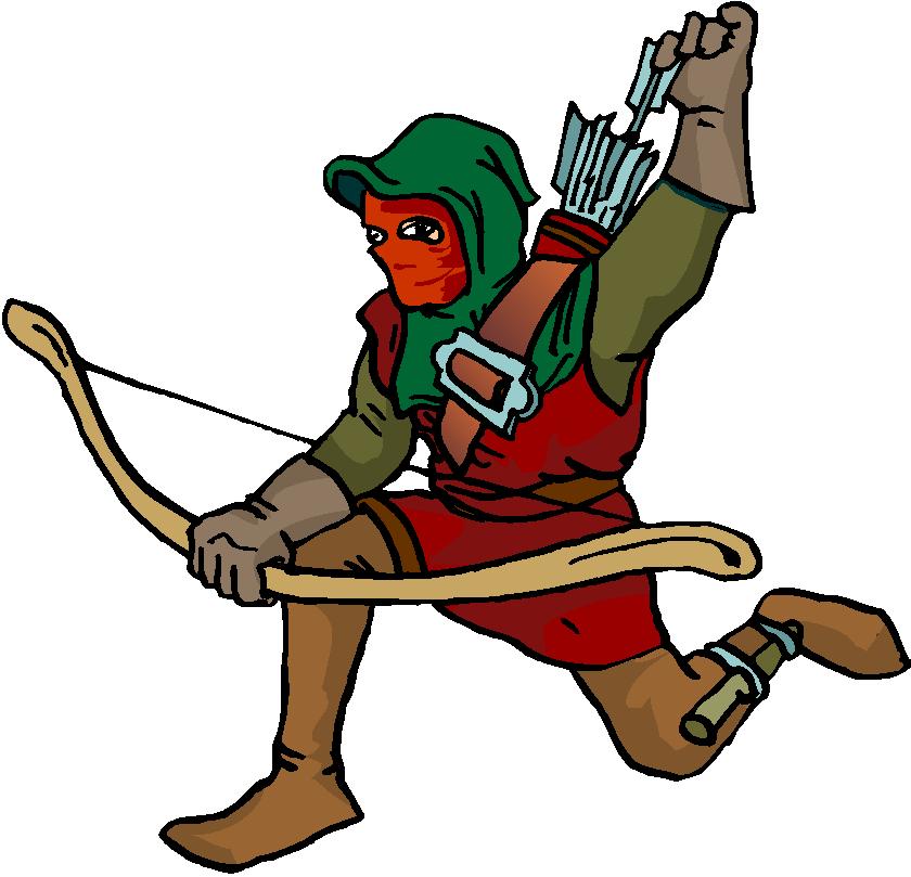 Archer clipart.
