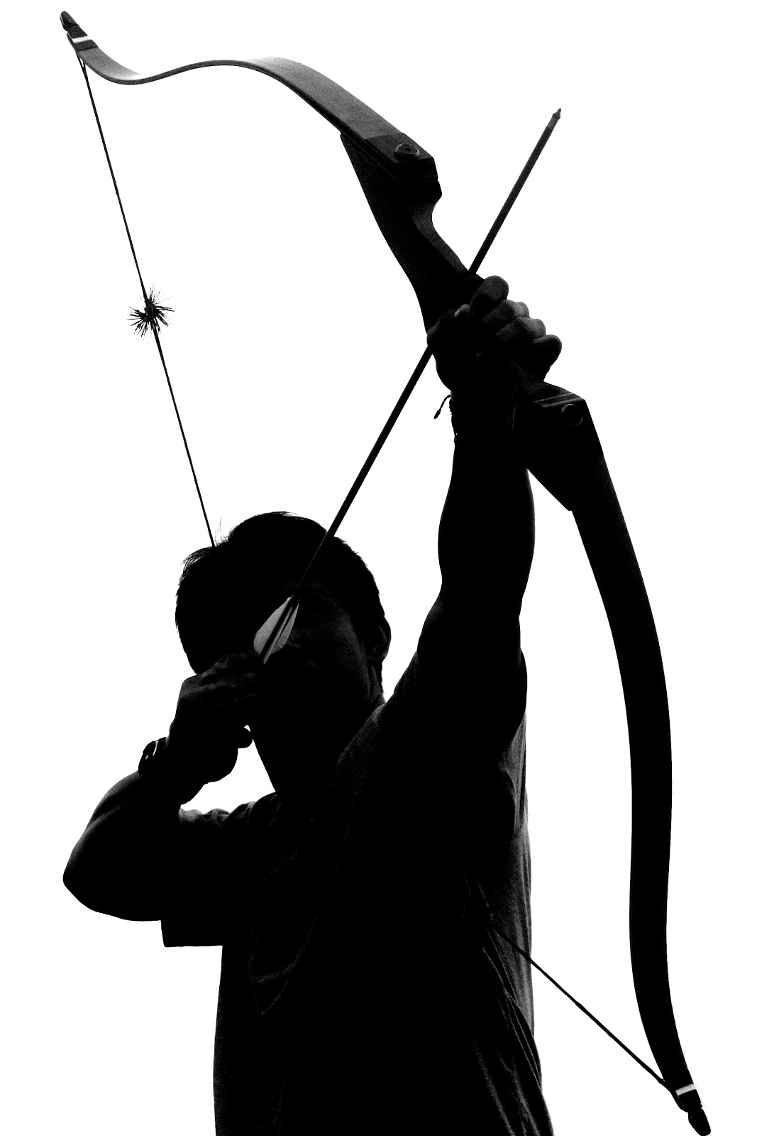 Free Archery Clipart Black And White, Download Free Clip Art.