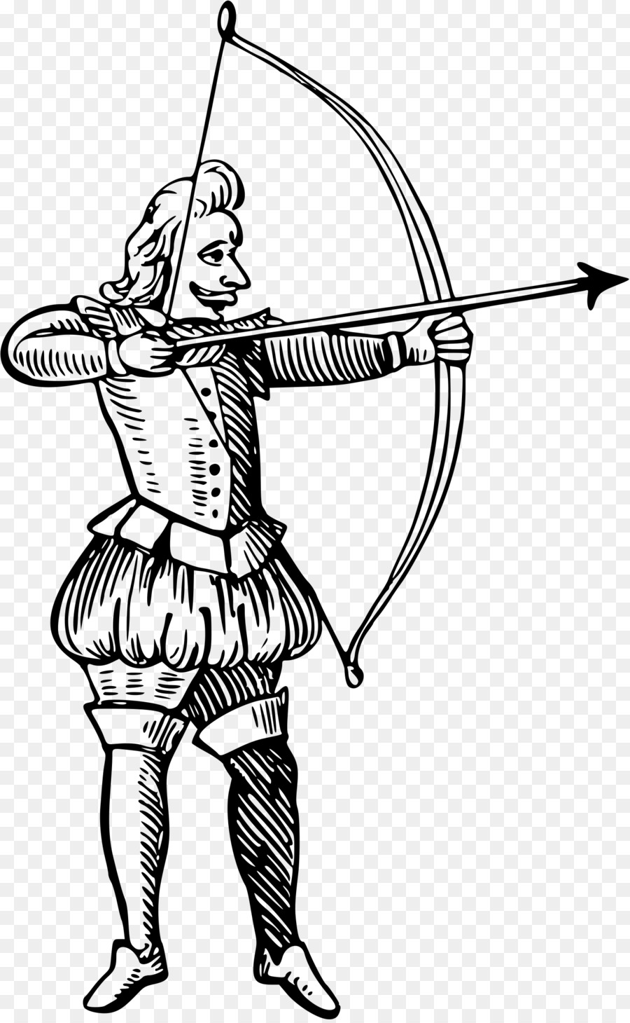 Archer clipart archery tag, Archer archery tag Transparent.