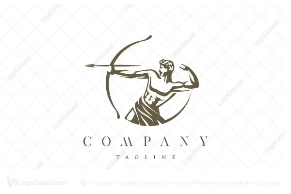 Exclusive Logo 189007, Epic Archer Logo.
