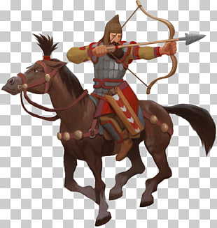 20 mounted Archery PNG cliparts for free download.