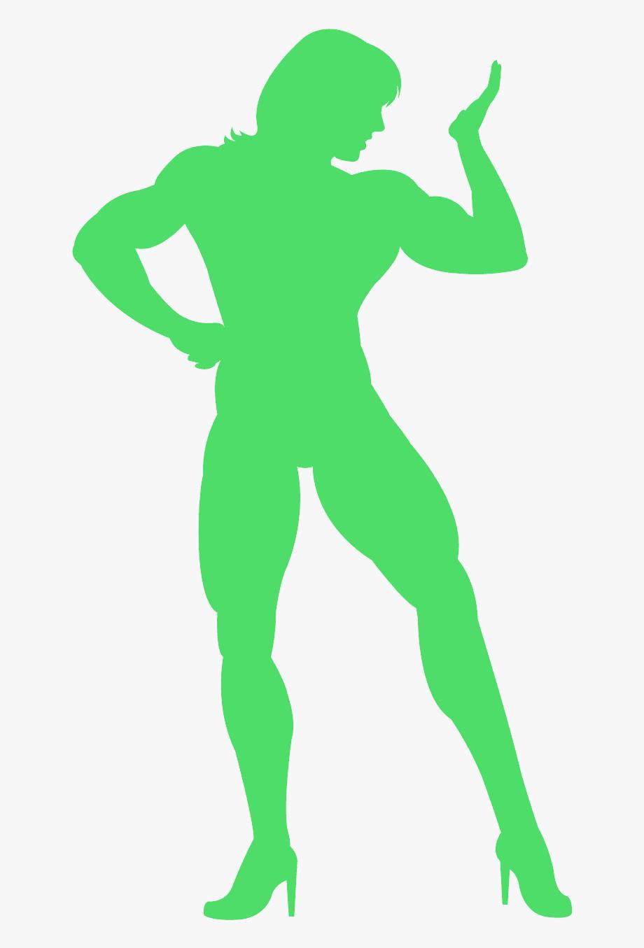 Female Bodybuilder Logo , Transparent Cartoon, Free Cliparts.