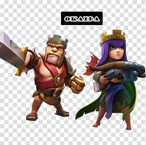 Clash of Clans Clash Royale ARCHER QUEEN Barbarian King.