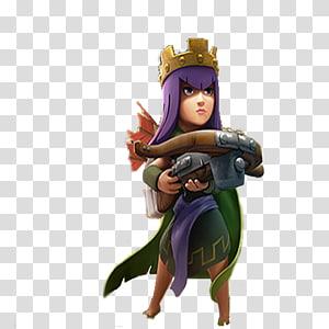 Clash of Clans ARCHER QUEEN Clash Royale King Archer.