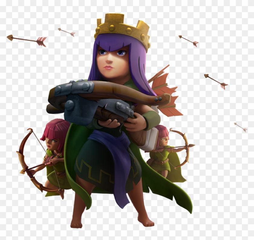 Clash Of Clans Archer Queen Png.