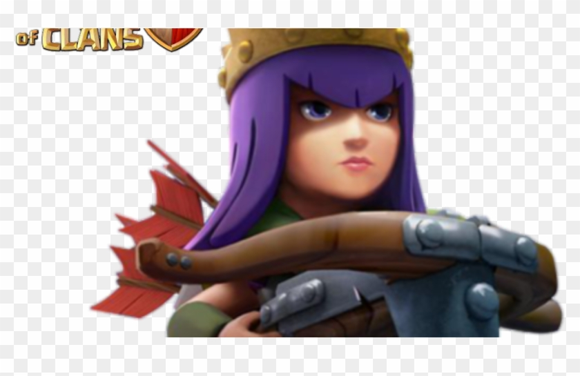 Clash Of Clans Archer Queen Png , Png Download.