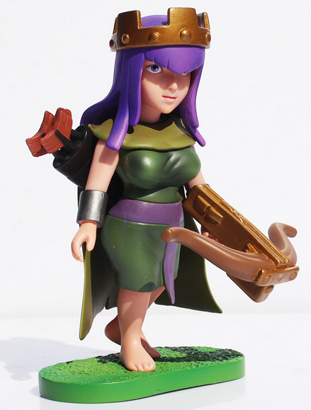 Clash of Clans Archer Queen Figure.