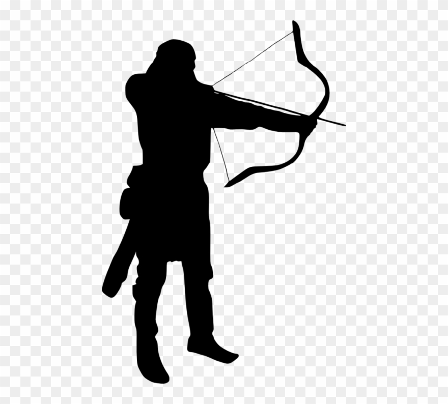 Free Png Archer Silhouette Png Images Transparent Clipart (#2801270.