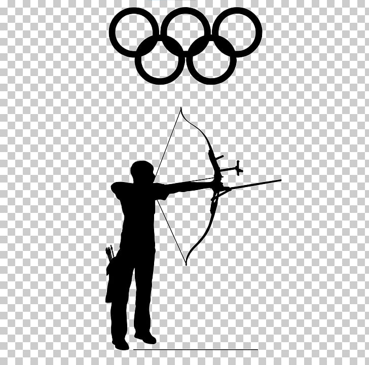 Olympic Games Archery Bow and arrow Sport , Arrow PNG.