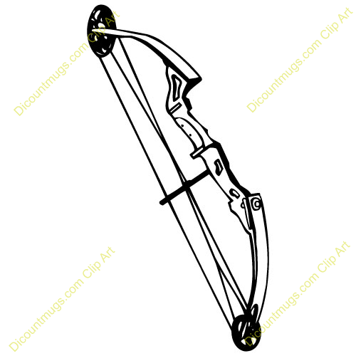Archery bow clipart 6 » Clipart Station.