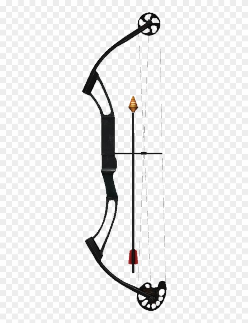 Compound Bow Clip Art.