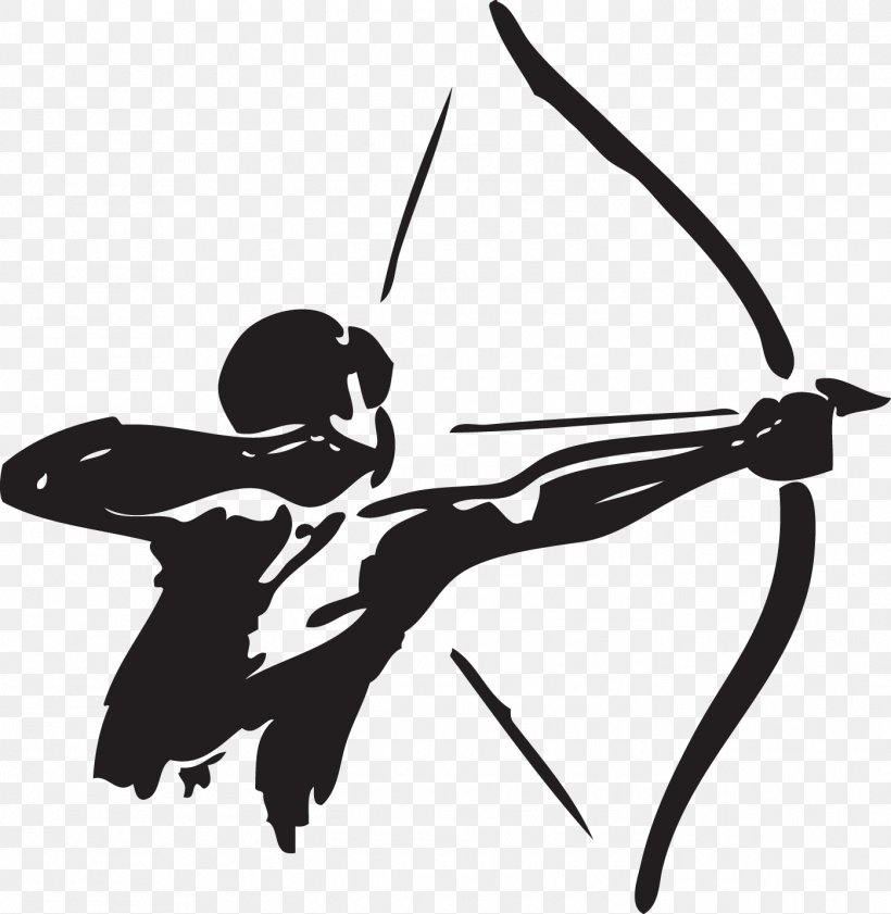 Archery Bow And Arrow Hunting Clip Art, PNG, 1396x1432px.