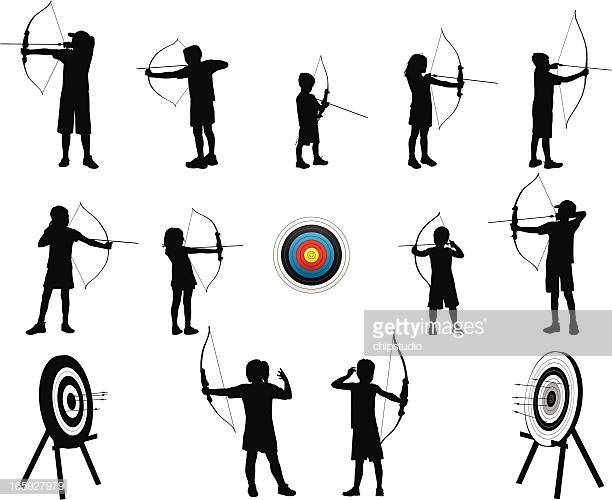 60 Top Archery Stock Illustrations, Clip art, Cartoons, & Icons.