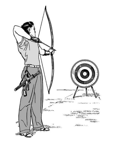 Free Archery Clipart Pictures.