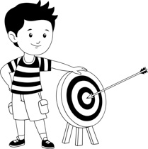 Free Black and White Sports Outline Clipart.
