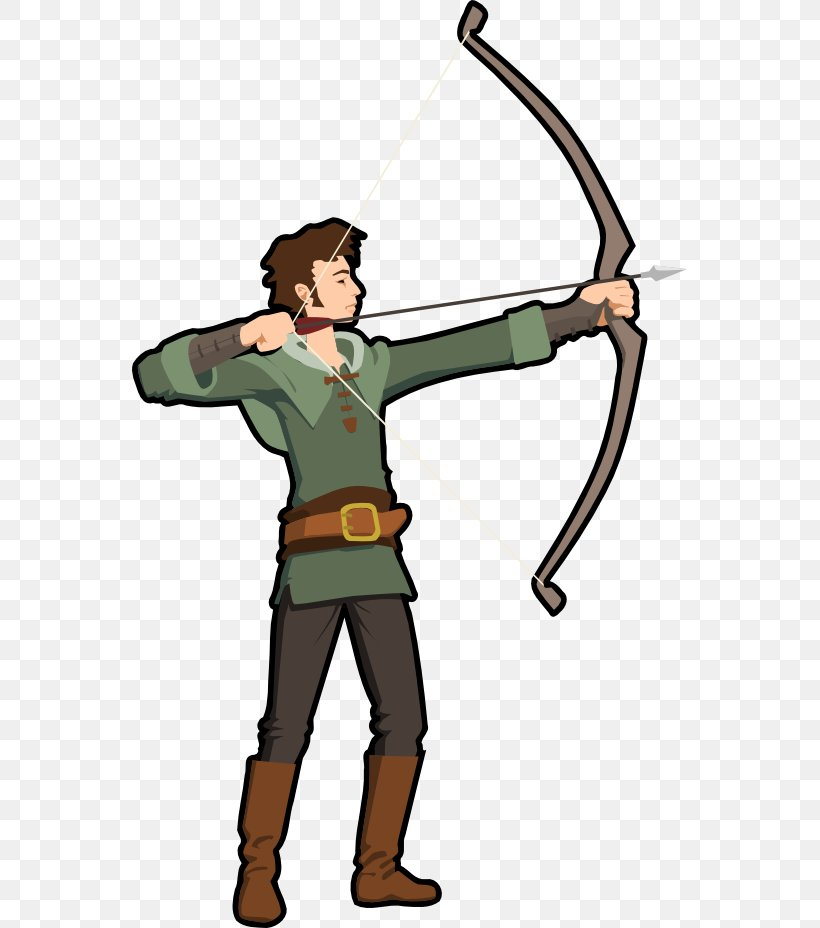 Archery Bow And Arrow Clip Art, PNG, 555x928px, Archery, Bow.