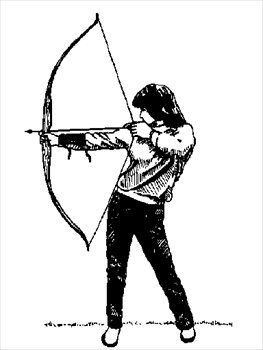 Free archery clipart free clipart graphics images and photos.