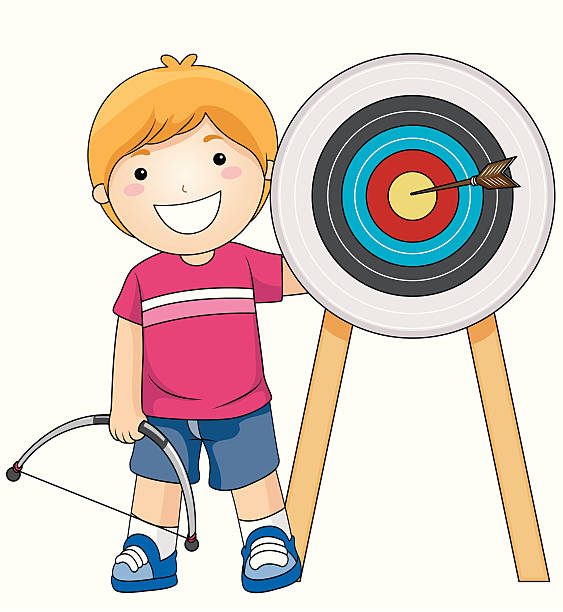 Collection of Archery clipart.