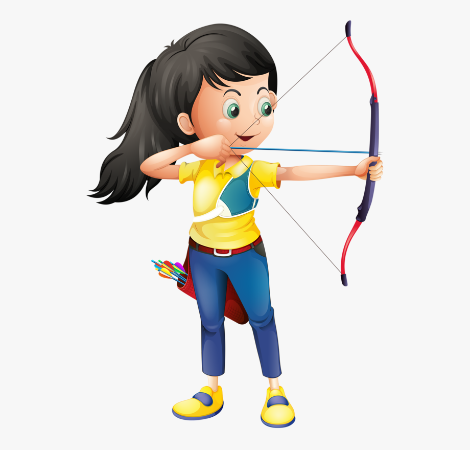 Archery Clipart Athletics Game.