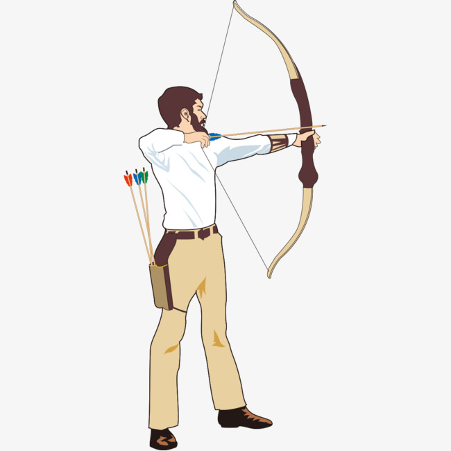 Download Free png Archery Master Graphics, Archery Clipart.