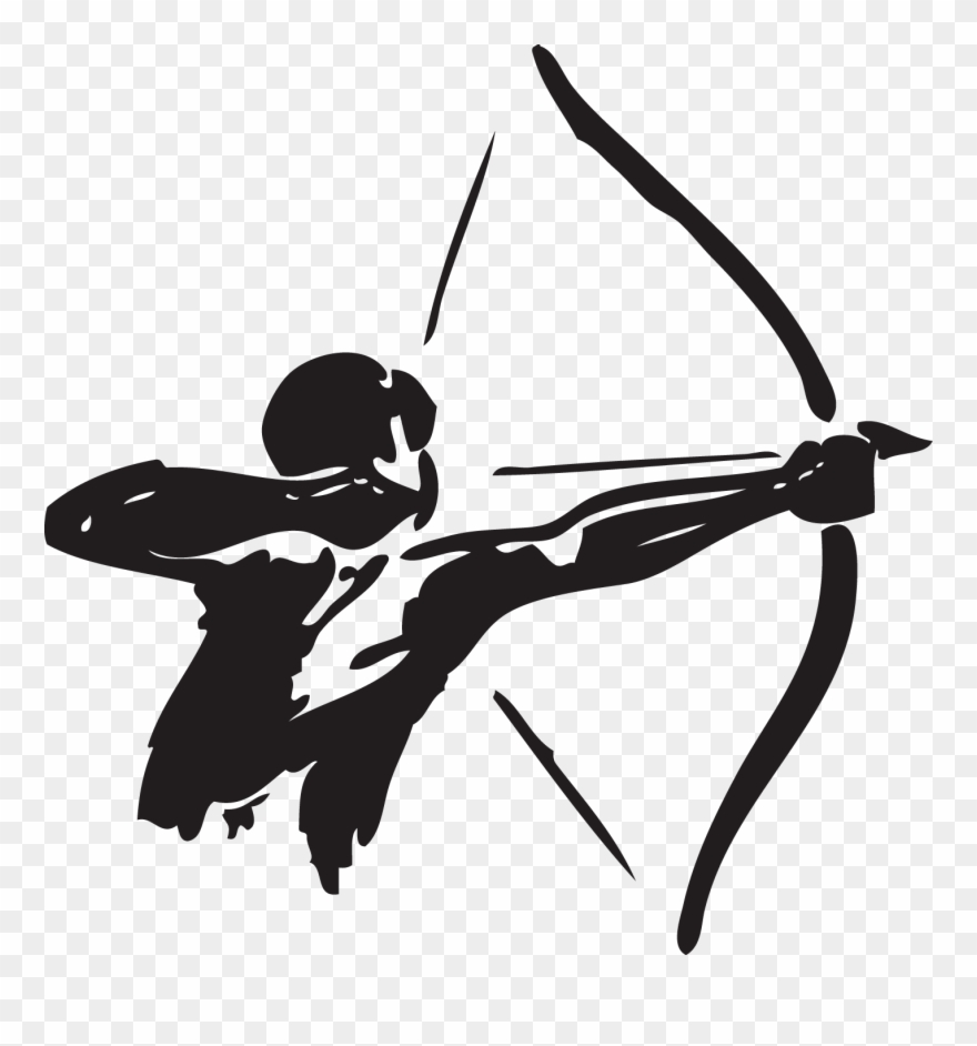 Banner Royalty Free Library And Arrow Hunting Clip.
