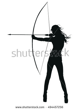 Longbow Stock Images, Royalty.