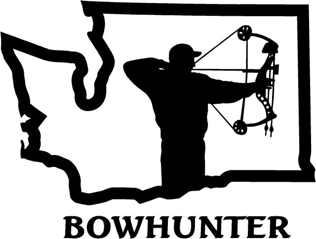 Archery Hunting Clipart.