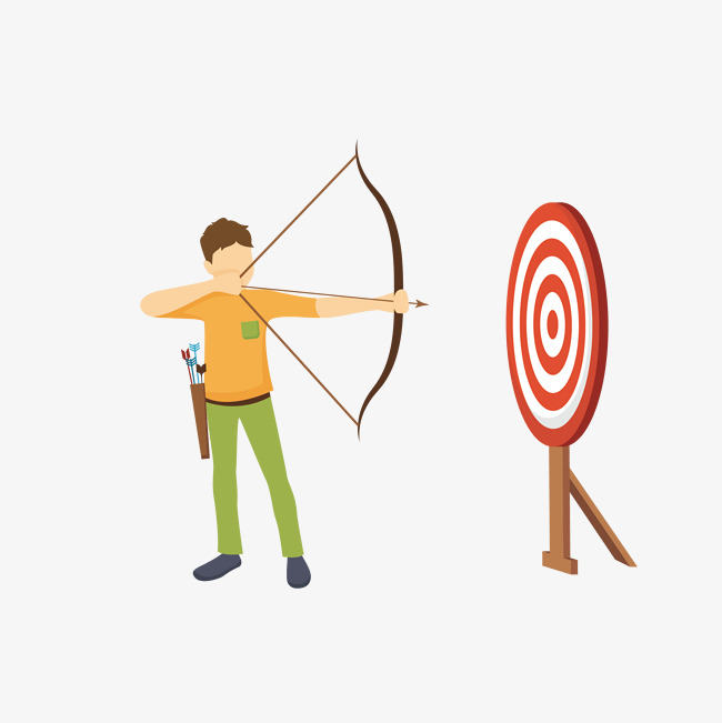 Download Free png Man Archery, Archery Clipart, Vector, Man.