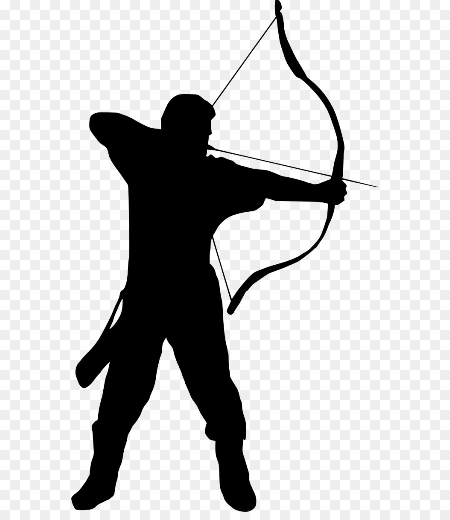 Archery Silhouette Photography.