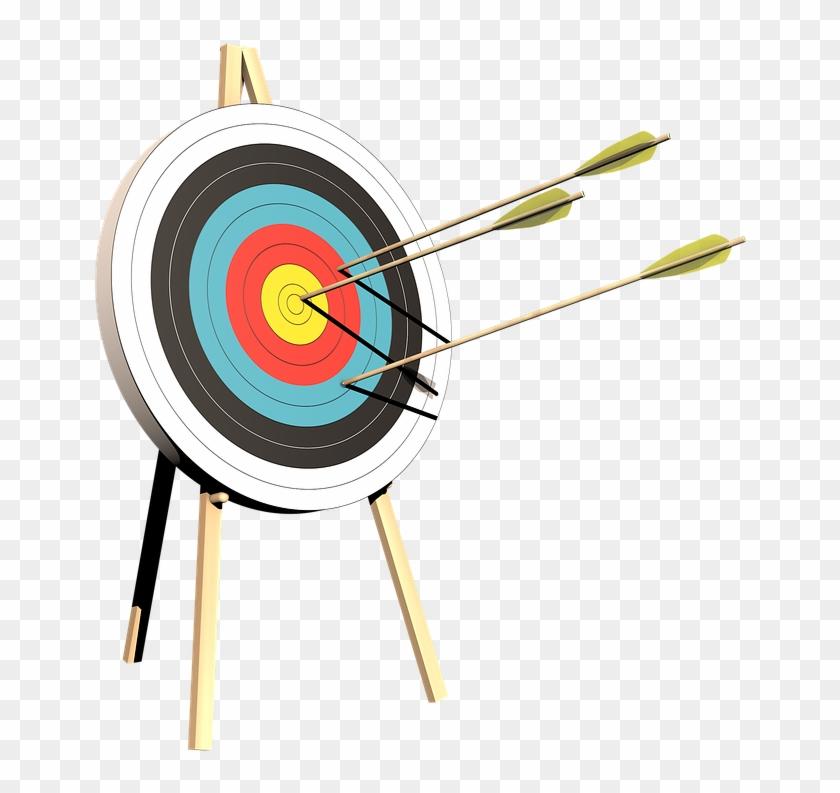 Archery, Target, Arrows, Bogensport.