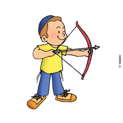 757 Bow And Arrow free clipart.