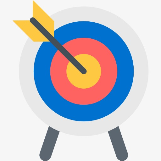 A Archery Target, Archery Clipart, Target Clipart, Archery PNG.