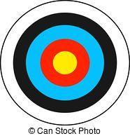 Archery target clipart » Clipart Portal.
