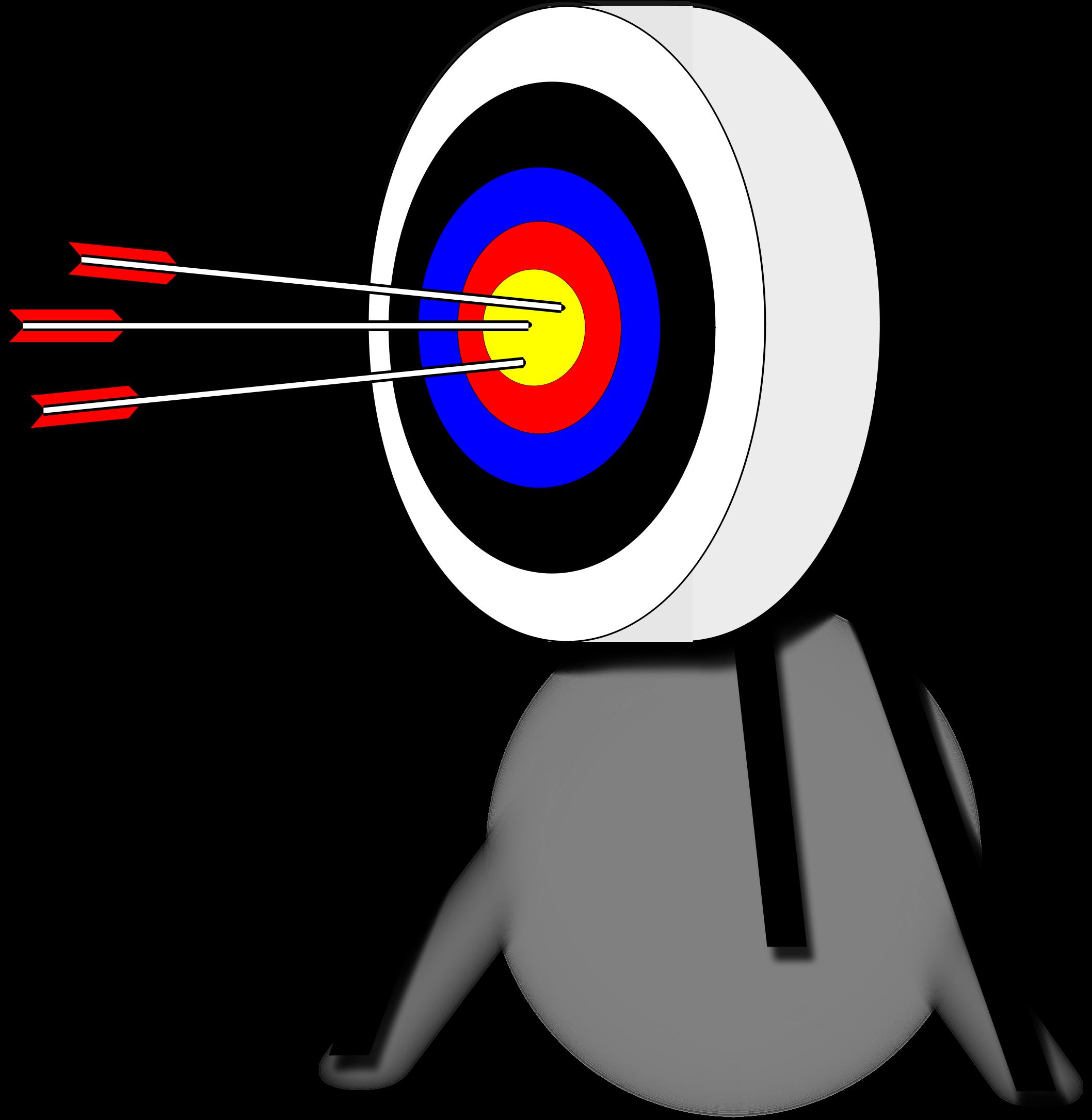 830 Archery free clipart.