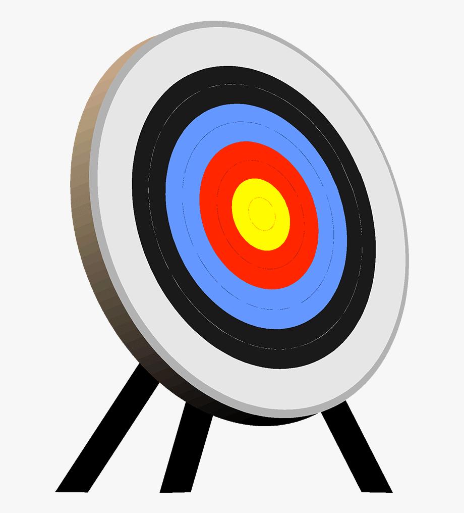 Clip Art Archery Target , Transparent Cartoon, Free Cliparts.