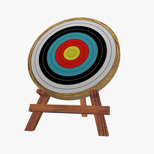 Archery Target Free Clipart.