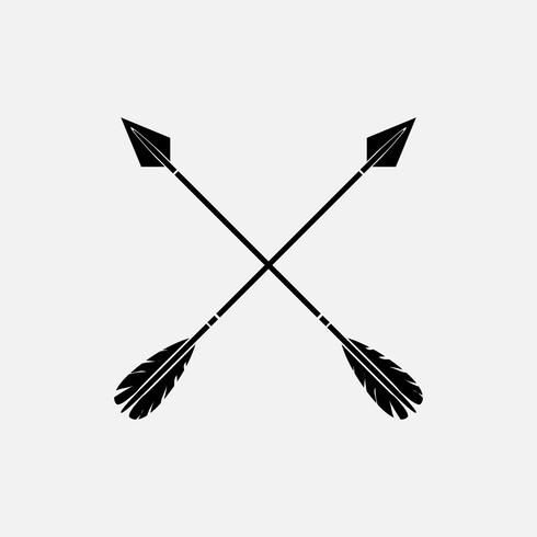 Archery team crossed arrows clipart clipart images gallery.