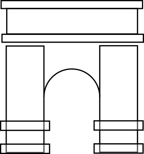 Arch Clip Art at Clker.com.