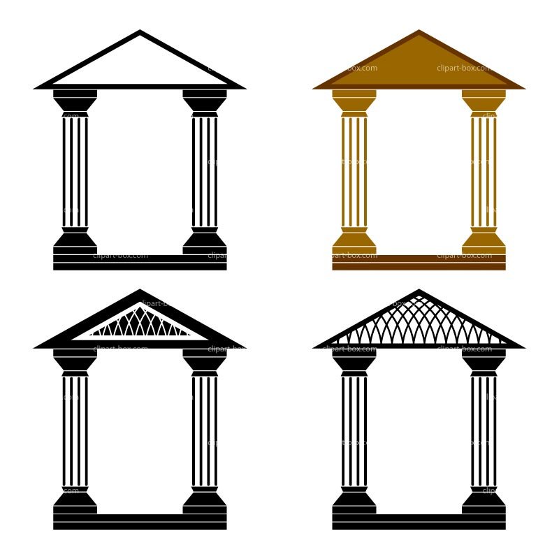 CLIPART ARCHES DECORATIVES.