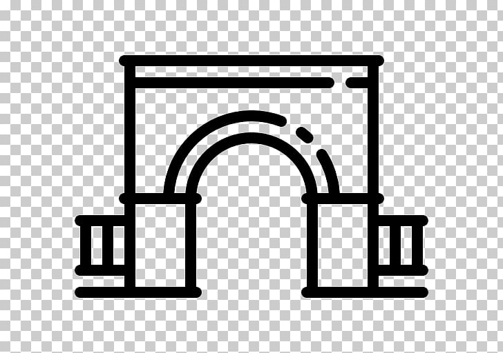 Architecture Vecteur Logo , arches PNG clipart.
