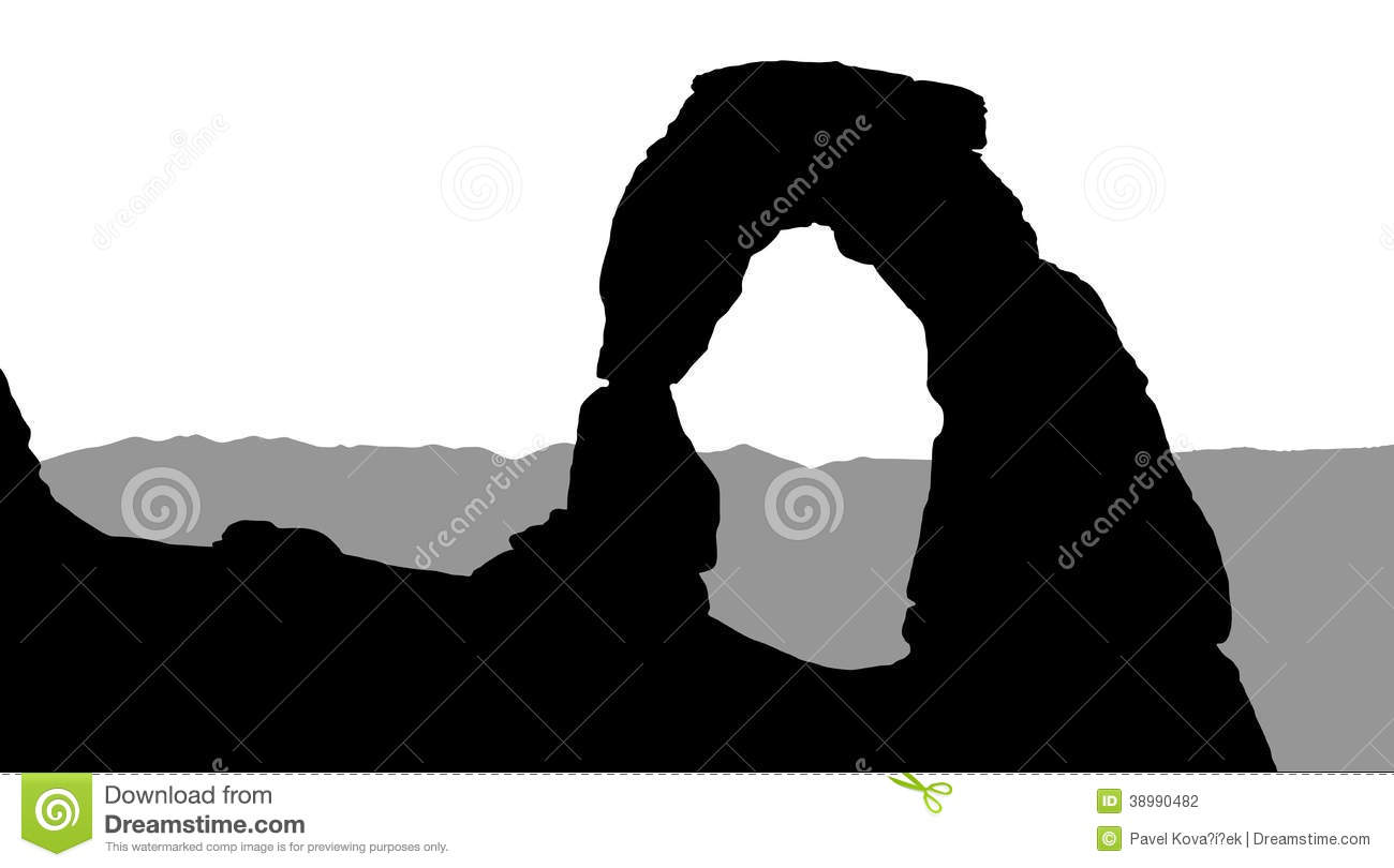 Arches National Park Stock Illustrations.